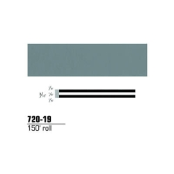 STRIPING TAPE-MEDIUM GRAY 3/16
