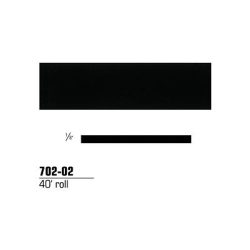 STRIPING TAPE--BLACK 1/4