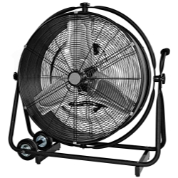 "MOUNTAIN 24"" Drum fan that moves vertically and horizontall at Sears.com"