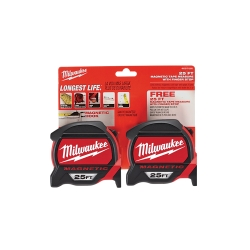 25' Magnetic Tape Measure BOGO Pack
