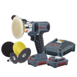 IQV12 Polisher/Sander Kit w/ (2) Ahr Li-ion Batt.