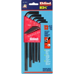 HEX KEY SET 13 PC SAE LONG .050-3/8IN.