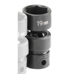 SOC 19MM 3/8D IMP UNIV 6PT
