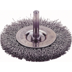 CRIMPED WIRE WHEEL BRUSH, 3
