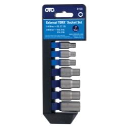 OTC Socket Sets - TORX SOCKET SET 7 PC - ISN