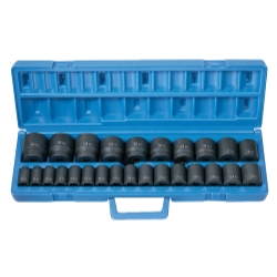 26 PC 1/2 DR STANDARD LENGTH METRIC MASTER SET