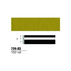 STRIPING TAPE-GOLD METALLIC 1/2