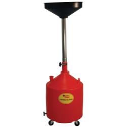 JohnDow 18-Gallon Poly Portable Oil Drain