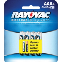 ALKALINE AAA CARD 4 PK