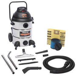 SHOP VAC PROFESSIONAL 16 GALLON STAINLESS STEEL