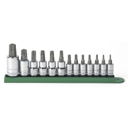 13PC TORX TAMPER PROOF SOCKET SET