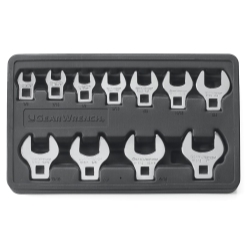 11PC SAE CROWFOOT WRENCH SET 3/8