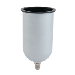 PAINT GUN CUP GRAVITY FEED ALUMINUM 23OZ