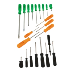 SCREWDRIVER SET 22PC  NEON COLORS