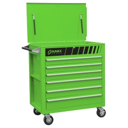 Sunex Carts - Premium Full Drawer Service Cart Green-Go Green - ISN at Sears.com