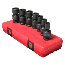 SOCKET SET IMPACT 1/2IN. DRIVE 7 PC UNIV STD SAE