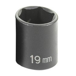 SOC 19MM 3/8D IMP 6PT
