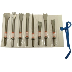 CHISEL AIR SET 8PC EC