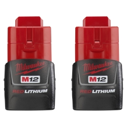M12 REDLITHIUM Compact Battery 2 Pack