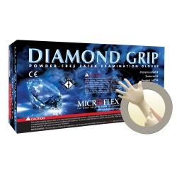 GLV DIAMGP MED NAT 100/10CS DISP