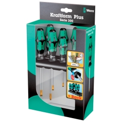 WERA TOOLS LLC Wera Tools LLC (WER05105650006) 6 Piece 300 Series Assorted Screwdriver Set