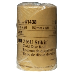 GOLD DISC ROLLS STIKIT P220G 6IN 175/ROLL
