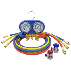 CPS Products Brass 134a manifold with blue boot at Sears.com
