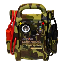 Camo booster pack with inverter