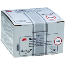 HOOKIT FINISHING FILM DISCS P1500 6IN 100PK