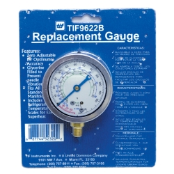 REFRIGERANT GAUGE GLYCERINE LOW SIDE R12