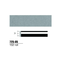 STRIPING TAPE--SILVER METALLIC 3/8