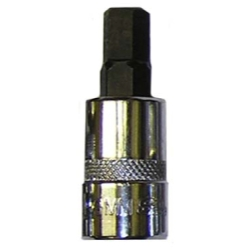 9MM HEX BIT, 3/8 SQ.DR. BIT HOLDER