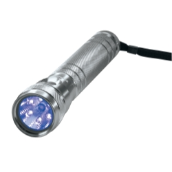 TWIN-TASK 3C UV TITANIUM FLASHLIGHT BLISTER PACK