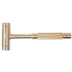 HAMMER BRASS 48OZ. 1-1/4IN. HEAD DIAMETER