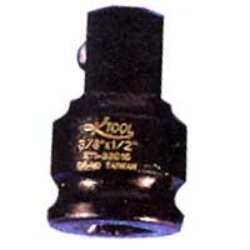 SOCKET IMPACT ADAPTOR 3/8IN. FEMALE 1/2IN. MALE